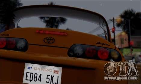 GTA 5 ENBSeries v3.0 Final para GTA San Andreas sucesivamente de pantalla