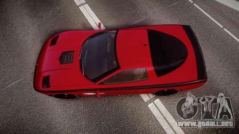 Invetero Coquette Spec-R1 para GTA 4 visión correcta