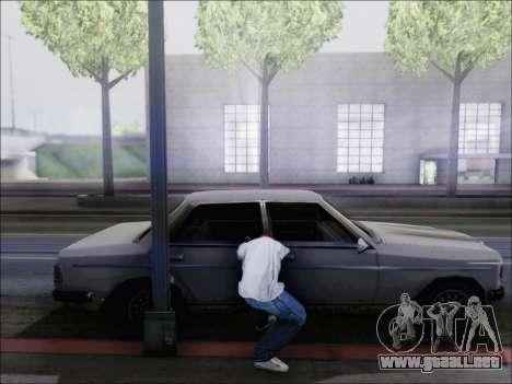 La piratería de la máquina para GTA San Andreas segunda pantalla