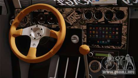 Volkswagen Caddy DRY Garage para la visión correcta GTA San Andreas