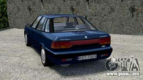 Daewoo Espero 1.5 GLX 1996 para GTA 4 Vista posterior izquierda