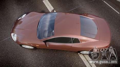 Dewbauchee XSL650R para GTA 4 visión correcta