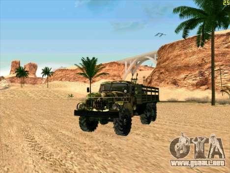 ZIL 131 Diablo Arba para GTA San Andreas left