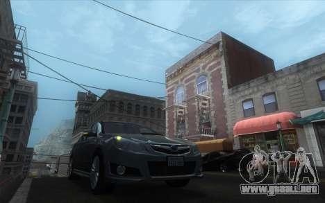 Classic Dark ENB para GTA San Andreas quinta pantalla
