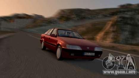 Daewoo Espero 1.5 GLX 1996 para GTA 4 interior