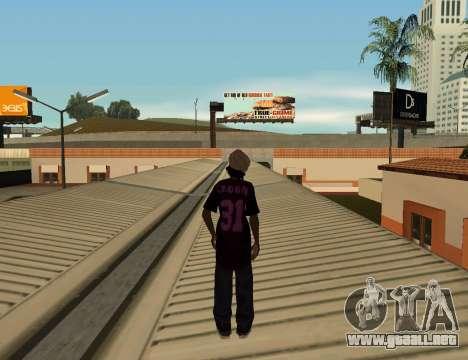 Cleo Slap para GTA San Andreas tercera pantalla
