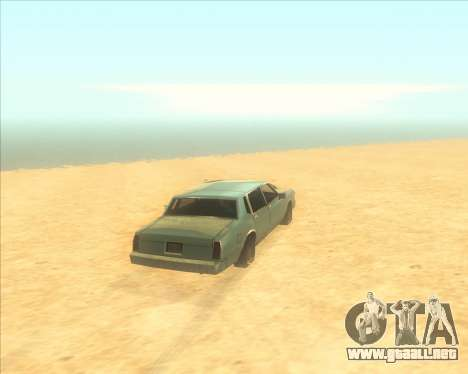ENBSeries NEW Perfect Effects para GTA San Andreas segunda pantalla