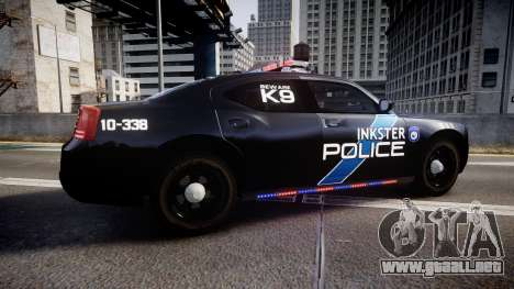 Dodge Charger 2010 Police K9 [ELS] para GTA 4 left