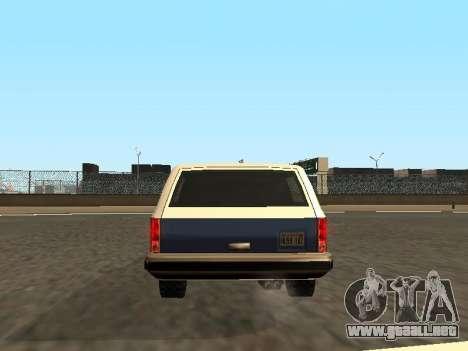 Rancher Four Door para GTA San Andreas