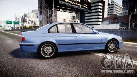 BMW M5 E39 stock para GTA 4 left