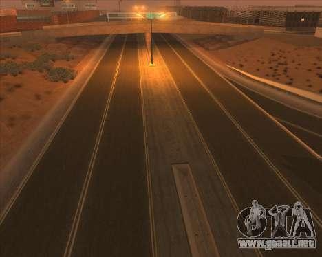 New Roads para GTA San Andreas segunda pantalla