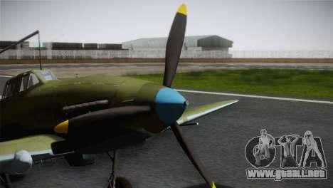 ИЛ-10 de la Fuerza Aérea de corea para la visión correcta GTA San Andreas