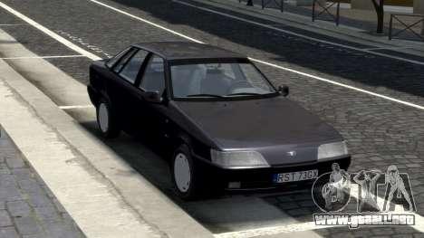 Daewoo Espero 1.5 GLX 1996 para GTA 4 vista hacia atrás