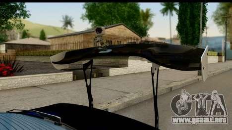 Nissan Silvia S14 Kouki Skin para la visión correcta GTA San Andreas