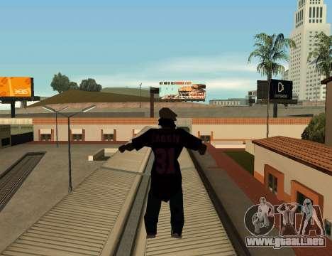 Cleo Slap para GTA San Andreas segunda pantalla