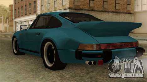 Porsche 911 Turbo 3.3L Coupe (930) 1981 para GTA San Andreas left