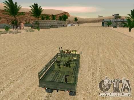 ZIL 131 Diablo Arba para la vista superior GTA San Andreas