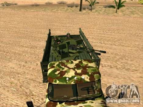 ZIL 131 Diablo Arba para la visión correcta GTA San Andreas