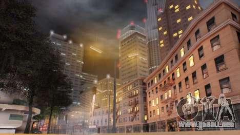 Miami Sunset ENB para GTA San Andreas segunda pantalla