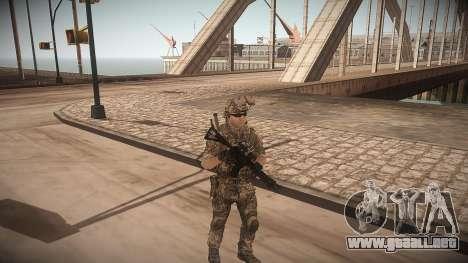 Animación de CoD MW3 para GTA San Andreas