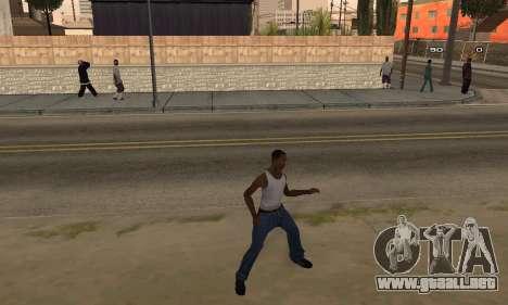 Dance para GTA San Andreas