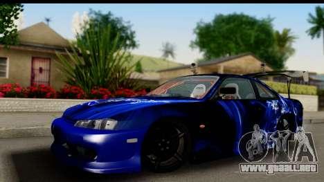 Nissan Silvia S14 Kouki Skin para GTA San Andreas