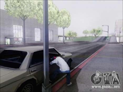 La piratería de la máquina para GTA San Andreas tercera pantalla
