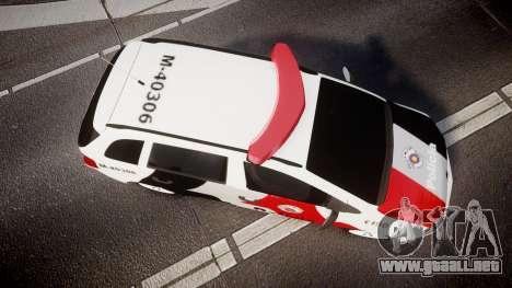 Volkswagen Suran PMESP [ELS] para GTA 4 visión correcta
