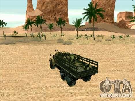 ZIL 131 Diablo Arba para GTA San Andreas vista hacia atrás