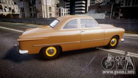 Ford Business 1949 v2.1 para GTA 4 left