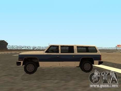 Rancher Four Door para visión interna GTA San Andreas