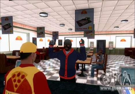 Franklin (el Ladrón) de GTA 5 para GTA San Andreas segunda pantalla