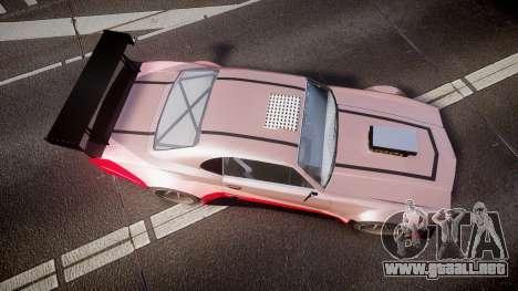Declasse Sabre GT-R [Update] para GTA 4 visión correcta