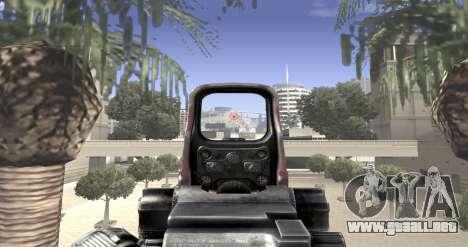 Sniper scope mod para GTA San Andreas sucesivamente de pantalla