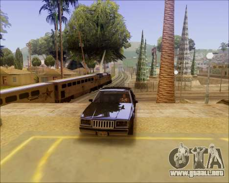 ENB by Nietto for SA:MP para GTA San Andreas segunda pantalla
