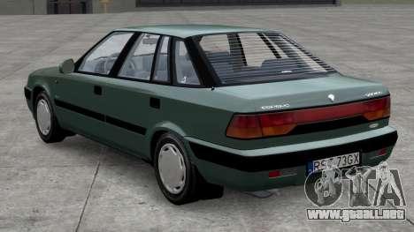 Daewoo Espero 1.5 GLX 1996 para GTA 4 left