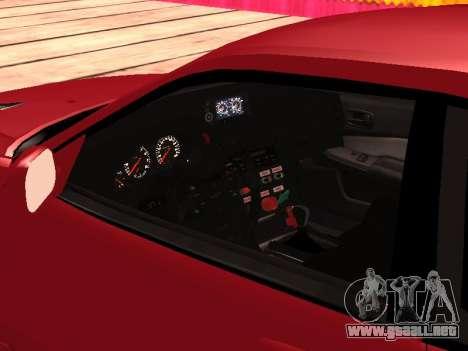Nissan Skyline para GTA San Andreas vista hacia atrás