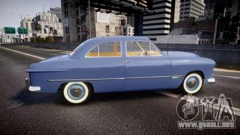 Ford Custom Tudor 1949 v2.1 para GTA 4 left