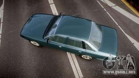 GTA V Vapid Stanier new wheels para GTA 4 visión correcta
