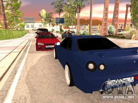 Nissan Skyline para la visión correcta GTA San Andreas
