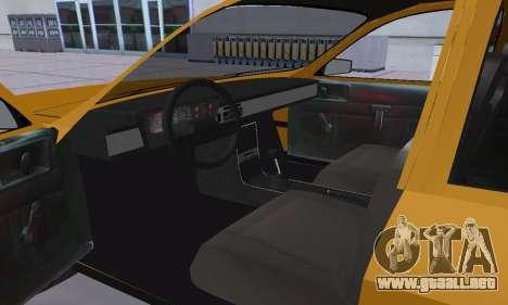 Renault 12 SW Taxi para vista lateral GTA San Andreas