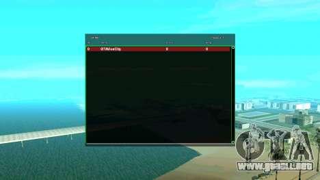 CGSA intercambio Automático SampGui para GTA San Andreas