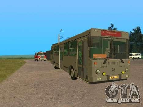 LiAZ 5256 para GTA San Andreas left