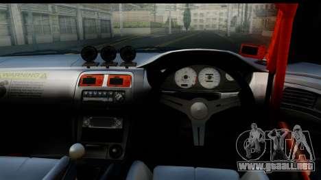 Nissan Silvia S14 Kouki Skin para GTA San Andreas vista posterior izquierda