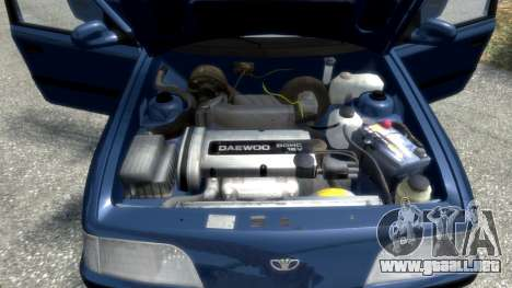 Daewoo Espero 1.5 GLX 1996 para GTA 4 ruedas