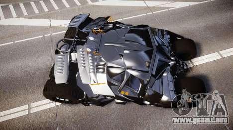 Batman tumbler [EPM] para GTA 4 visión correcta