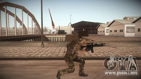 Animación de CoD MW3 para GTA San Andreas tercera pantalla