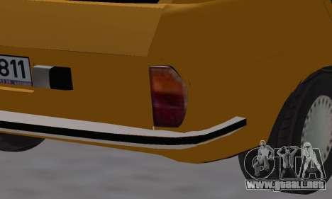 Renault 12 SW Taxi para GTA San Andreas interior