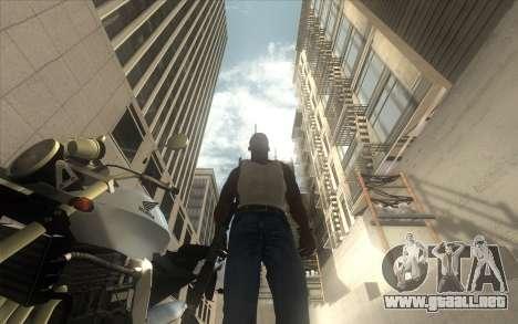 Classic Dark ENB para GTA San Andreas sucesivamente de pantalla