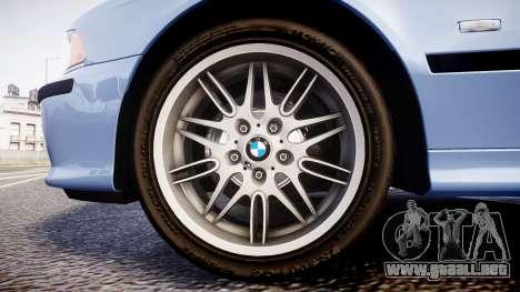 BMW M5 E39 stock para GTA 4